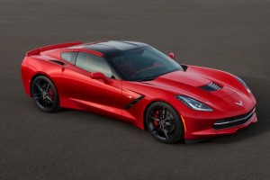 Chevy 1 red stingray